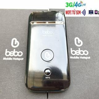 Bộ phát wifi từ sim 3G 4G LTE, BEBO ZTE MF65, không dây, đa mạng, tặng thánh sim 4G miễn phí từ MƯỜNG THANH ROYAL thumbnail