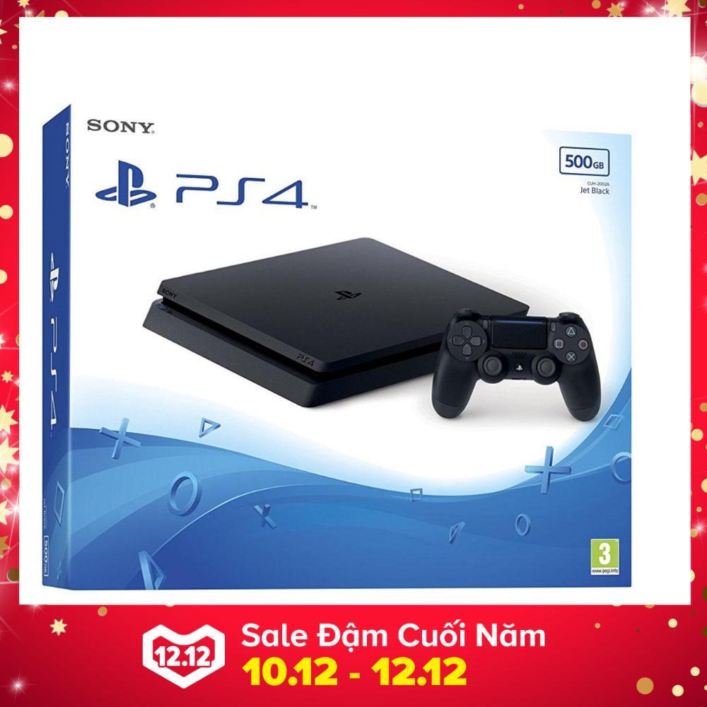 Hình ảnh Bộ Máy Chơi Game Playstation PS4 slim 500GB Model 2106A (Đen) - Hãng Phân Phối Chính Thức