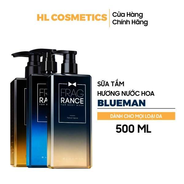 Sữa Tắm Hương Nước Hoa Cho Nam BLUEMAN Chính Hãng nhập khẩu