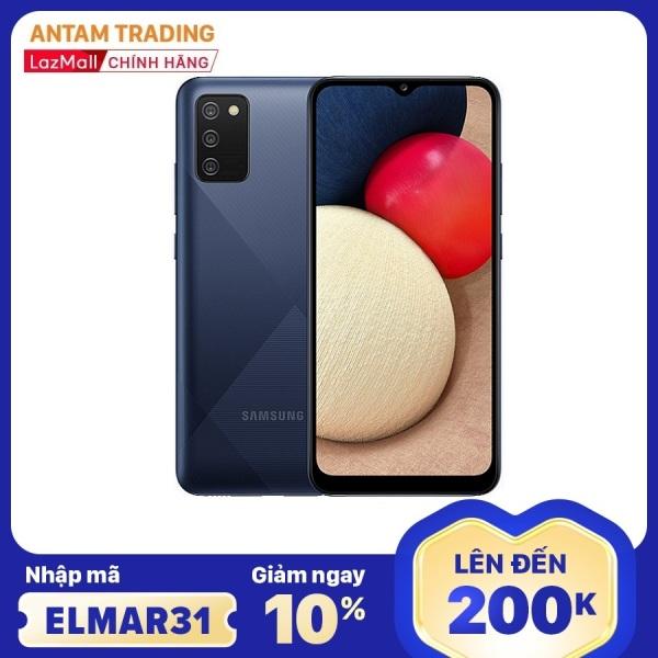 [Nhập mã ELMAR31 Giảm giá 200k] Điện thoại Samsung Galaxy A02s (4GB/64GB) - Chip siêu mạnh Snapdragon 450 8 nhân, Bộ 4 camera sau chính 13MB Màn hình tràn viền 6.5 HD+ Pin 5000mAh Hàng Chính Hãng - Bảo hành 12 Tháng