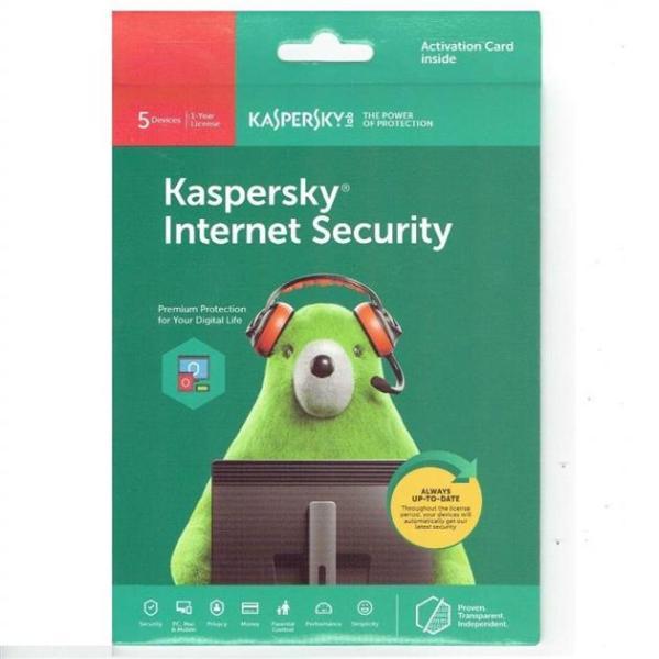 Bảng giá Kaspersky Internet Security 5 MÁY Phong Vũ