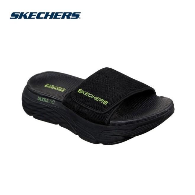 Skechers Dép Nam Max Cushioning Sandal - 229008-BKLM giá rẻ