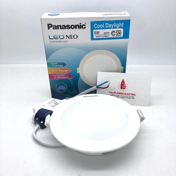 LED Neo Slim Downlight 6w khoét lổ phi 100  NNP71272 – vàng / NNP71279 – trung tính / NNP71278- trắng