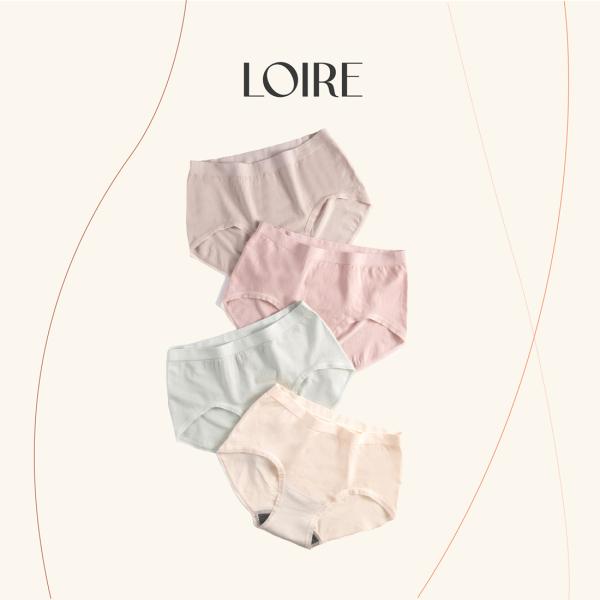 Nơi bán Hộp COMBO 4 chiếc Quần lót Cotton LOIRECHIC QL07 Co Dãn Thấm Hút