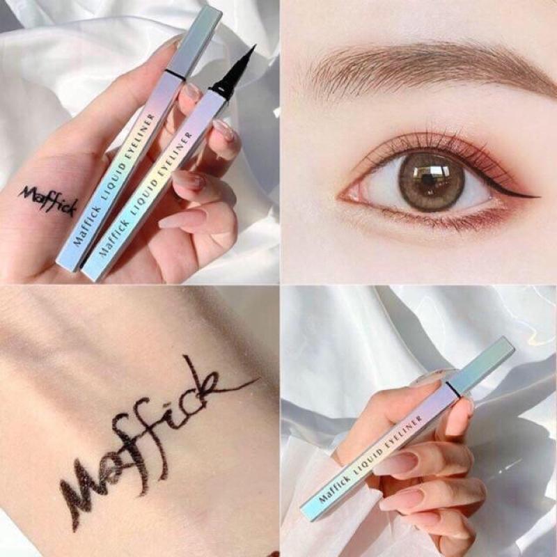 🦋🦋 Kẻ Mắt Dạ Màu Nâu Maffick 0.01mm Eyeliner Cao Cấp 🌧🌧
