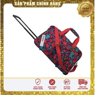 NOBLE Túi du lịch cần kéo họa tiết vải dù nhẹ, bền chống thấm nước, dễ dàng vệ sinh vết bẩn thumbnail