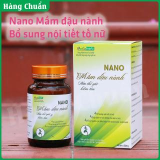 Hàng Chuẩn - Nano Mầm đậu nành Metaherb - Viên uống bổ sung nội tiết tố nữ chất lượng cao - Tăng estrogen tự nhiên giúp da mịn tóc mượt ngủ ngon hơn, tăng kích cỡ vòng 1 và tăng sinh lý nữ thumbnail