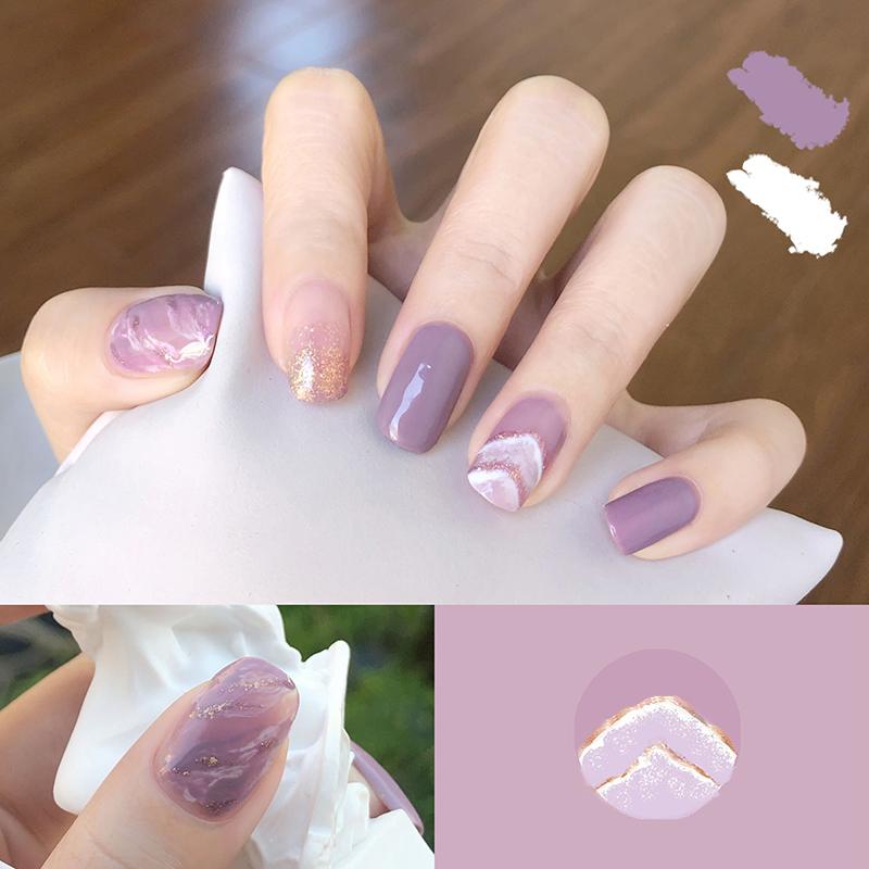 Móng tay giả có keo sẵn nail giả đẹp bộ 24 móng tay giả cao cấp hot trend móng giả bộ móng tay giả XP-MT011 giá rẻ