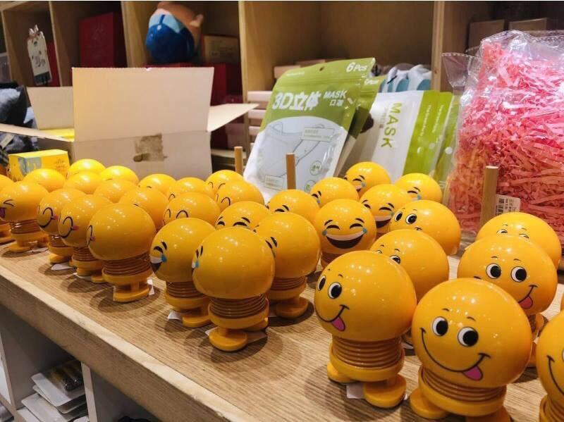 Icon mặt cười lò xo Emoji Jika Store