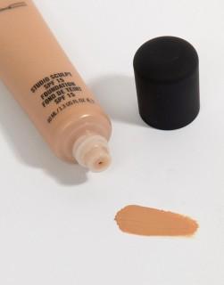 Kem nền MAC Sản phẩm giúp che phủ hoàn hảo các vết thâm trên da, quầng thâm ở mắt, không gây nhờn dính, rất tự nhiên và nhẹ nhàng. Kem nền có khả năng kiềm dầu tốt và rất bền màu không gây nhờn dính, rất tự nhiên và nhẹ nhàng thumbnail