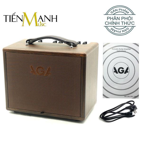 [Bluetooth] Ampli Đàn Guitar Acoustic AGA SC-X3 (40W) Loa Amply Nhạc Cụ Mộc Khuếch Đại Âm Thanh Thế hệ mới thay cho SC40 (SC-40-III) Instrument Amplifier SCX3