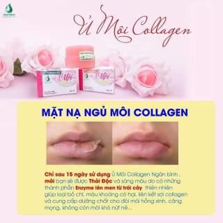 [ Tặng Quà ] Ủ Môi Colagen Khử Thâm môi, Khô môi, giúp Hồng môi. thumbnail