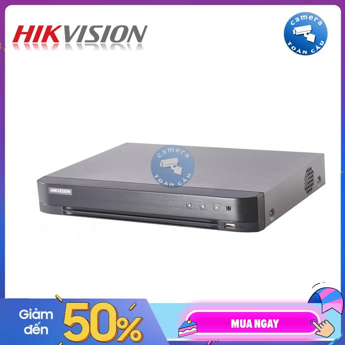 Đầu ghi hình HD-TVI DVR 8 Kênh Hikvision DS-7208HQHI-K1