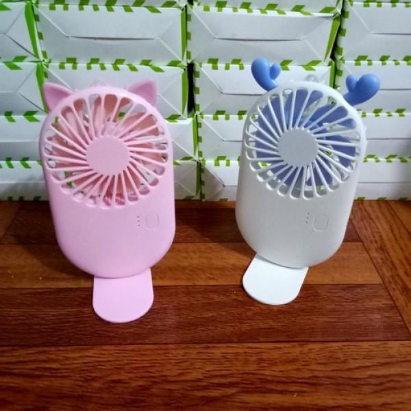 Quạt mini fan Pocket siêu mát với 7 cánh quạt 3 tốc độ tiện lợi có thể để bàn học, bàn làm việc