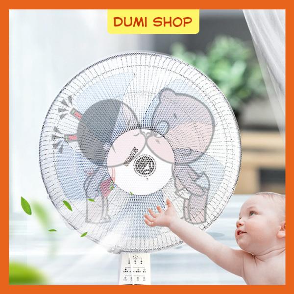 Lưới Vải Bọc Lồng Quạt Máy Có Dây Rút An Toàn Cho Bé – Dumi Shop