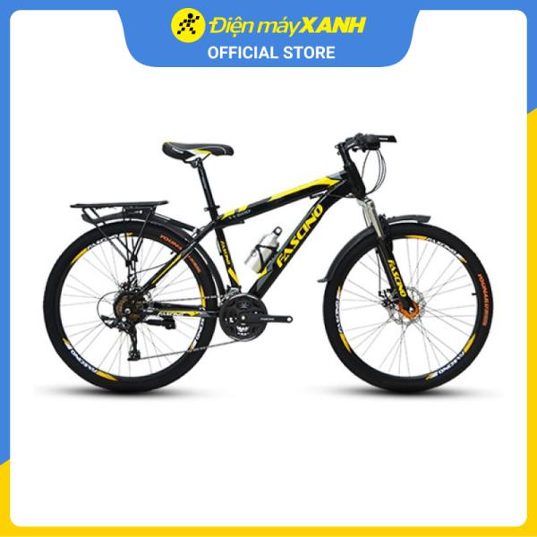 Mua Xe đạp địa hình MTB Fascino W600 26 inch Đen vàng