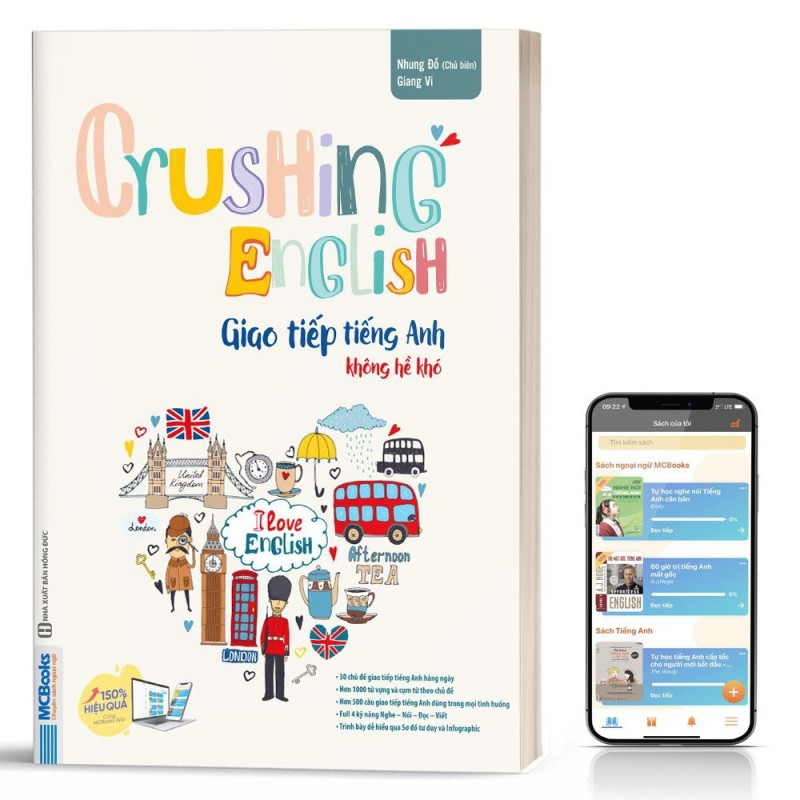 Crushing English - Giao Tiếp Tiếng Anh Không Hề Khó - Học Kèm App Online