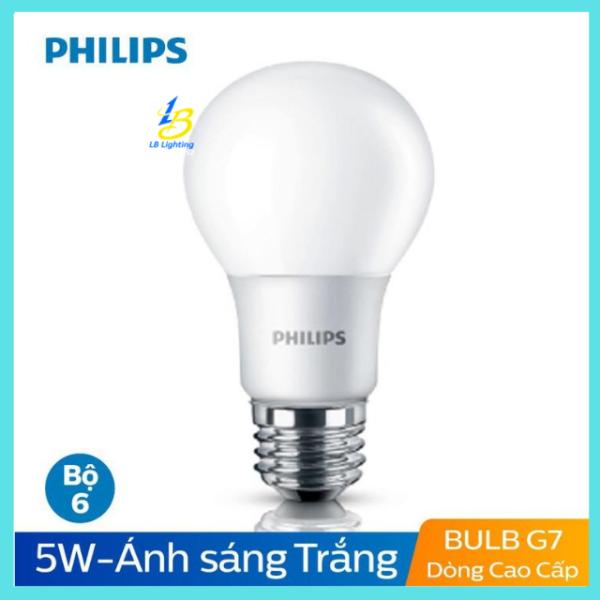 [SIÊU GIẢM GIÁ] Bóng Đèn Led Bulb (búp) 5W A60 E27 Philips[CHÍNH HÃNG] Tiết Kiệm Điện, Độ Bền Cao