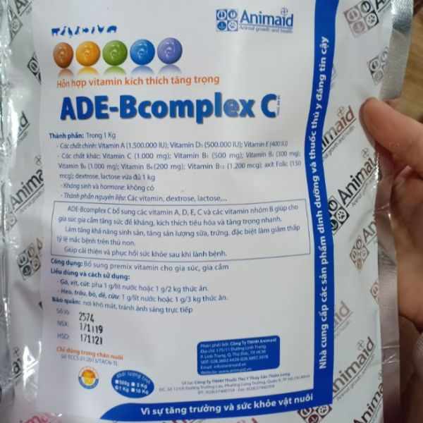 ade bcomplex-kích thích tăng trọng nhanh -1 kg