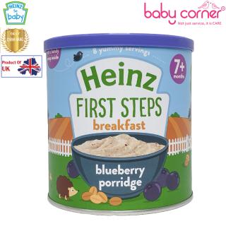 [HSD T2 2022] Bột Ăn Dặm (Cháo) HEINZ Vị Blueberry Việt Quốc, từ 7 tháng tuổi, 240g thumbnail