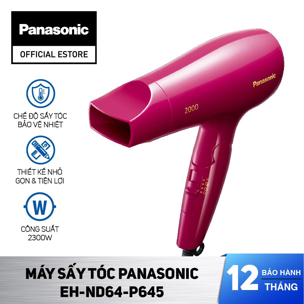 Máy Sấy Tóc Panasonic EH-ND64-P645 - Công Suất 2000W - Sấy nóng lạnh - Bảo Hành 12 Tháng - Hàng Chính Hãng nhập khẩu