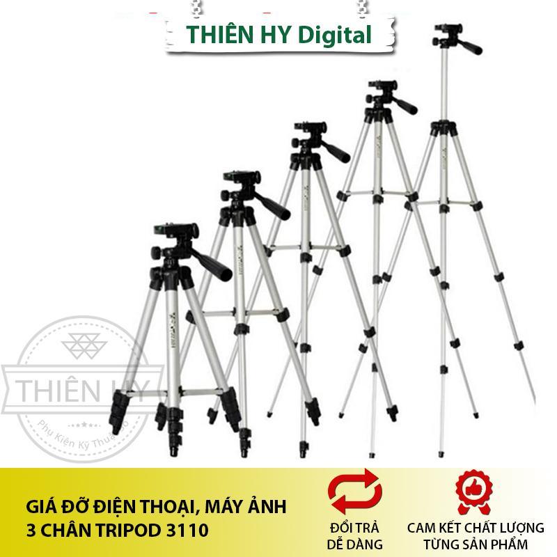 Giá đỡ điện thoại, máy ảnh 3 chân Tripod 3110A (PVN948)