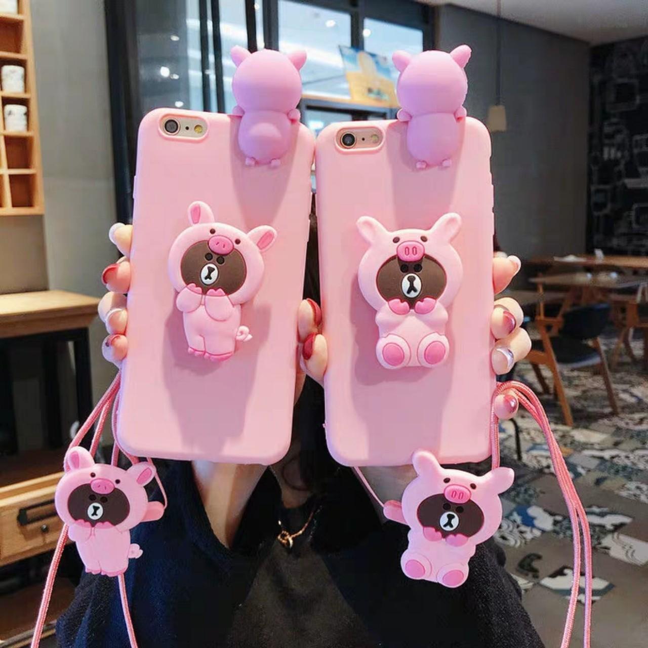 Giá Ốp lưng iphone 11,11 pro,11 pro max,5,5s,6,6s,6 plus,6s plus,7,8,7 plus,8 plus,X,XS,XR,XS Max dẻo hình thú leo tặng kèm giá đỡ và dây đeo