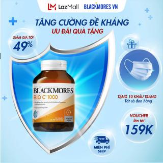 Blackmores Bio C 1000mg 150 Vvitamin c blackmore Úc viên uống bổ sung c tăng cường hệ miễn dịch thumbnail