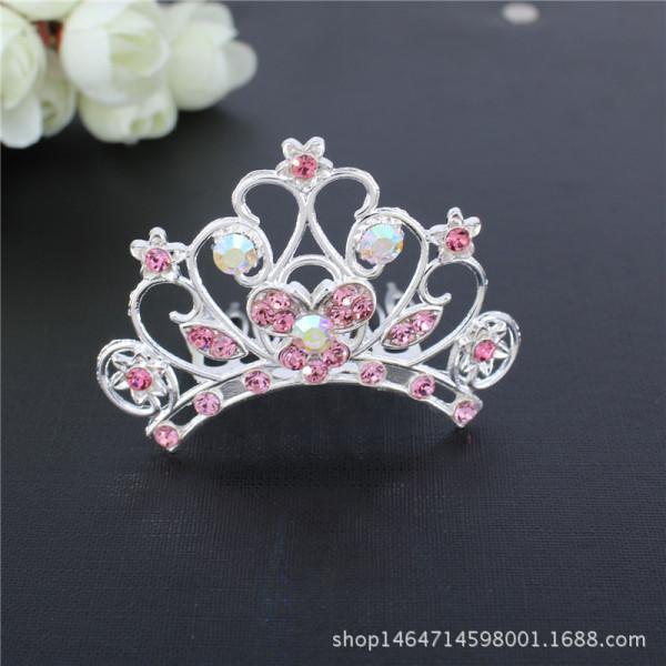 Giá bán Vương miện công chúa cho bé , phụ kiện cài tóc cho bé.