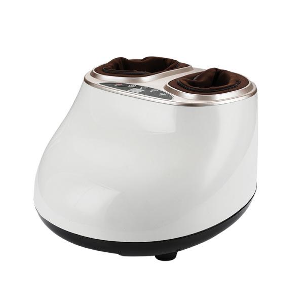 Máy massage chân mát xa chân xoa bóp chân đa năng túi khí bao bọc, máy mát xa màu trắng và hồng đất - Super Bank cao cấp