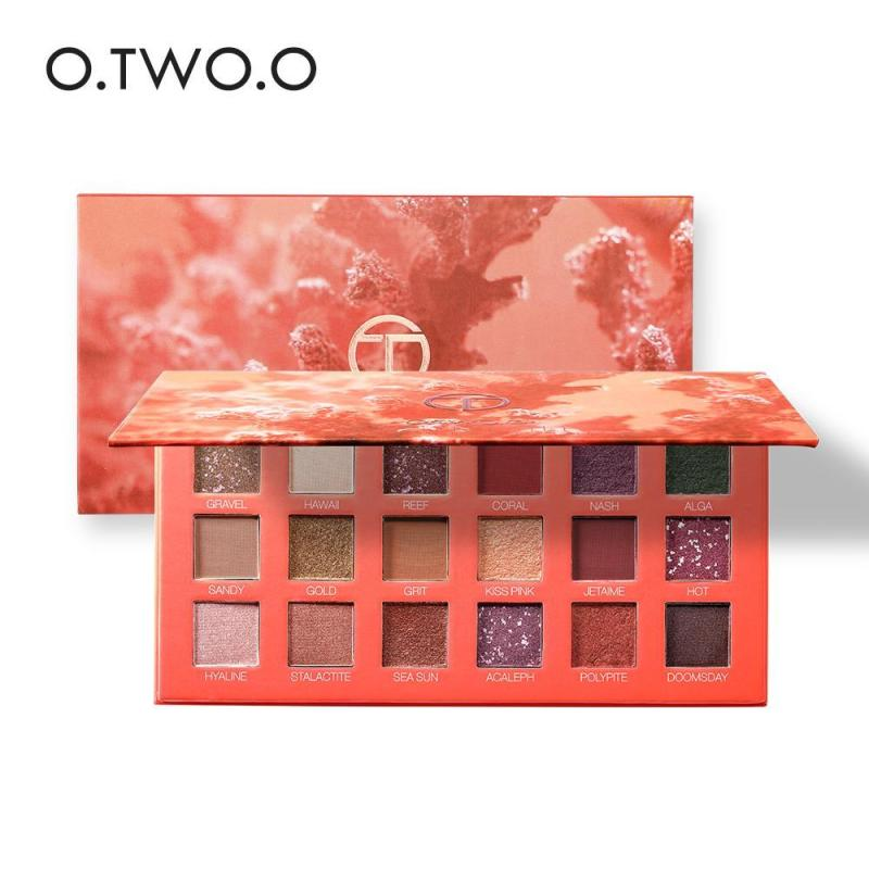 Bảng Phấn Mắt O.TWO.O Ocean Mystery Eyeshadow Palette cao cấp