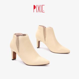 Boot Da Thật Cao Gót 7cm Bản Thun Pixie X617 thumbnail