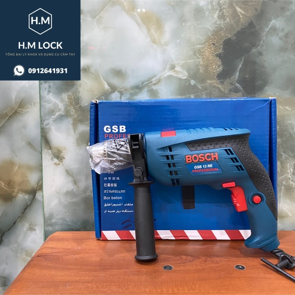 Máy Khoan 13RE cao cấp (Tặng 1 mũi khoan) - Chuyên dùng khoan tường, gỗ, tôn - Công suất cực mạnh