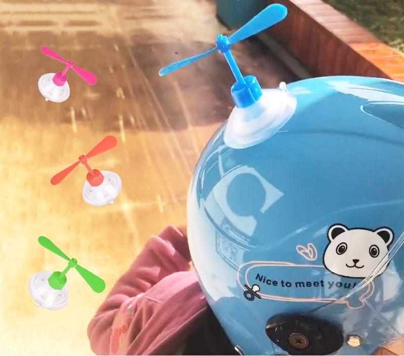 Chong Chóng Gắn Mũ Bảo Hiểm - chong chóng gắn mũ bảo hiểm Nhật Bản