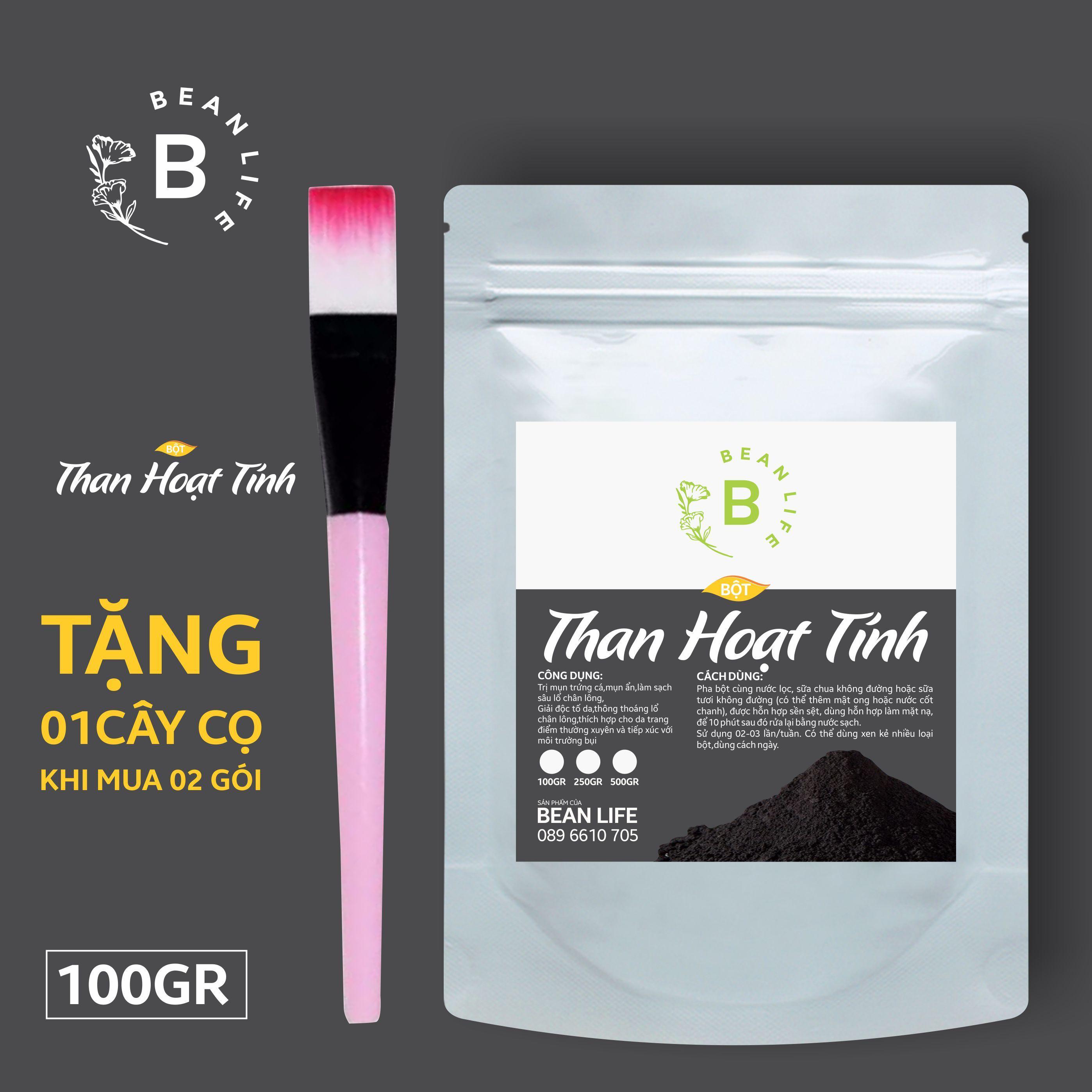 bột than hoạt tính bean life 100gram tốt nhất