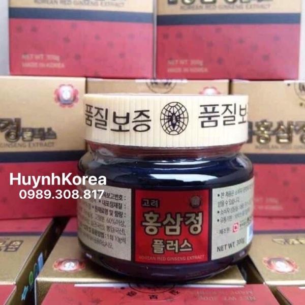 Cao hồng sâm Hàn Quốc 300gram xách tay cao cấp