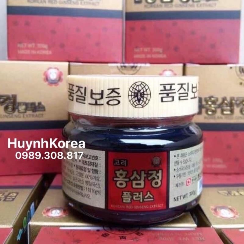 Cao hồng sâm Hàn Quốc 300gram xách tay