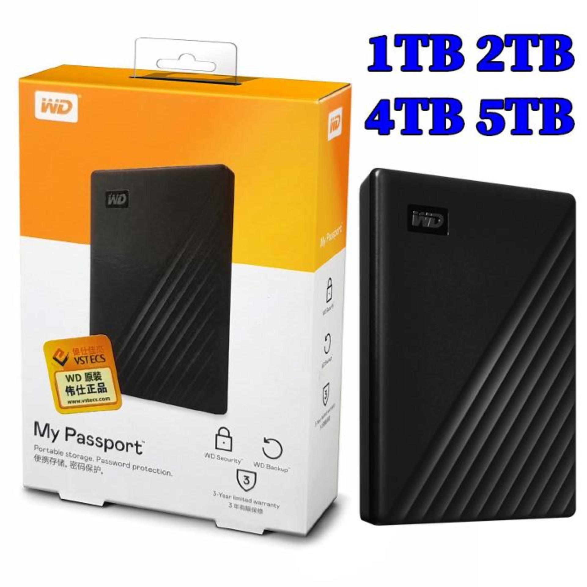 Ổ cứng di động WD My Passport 2TB - Hàng Nhập Khẩu