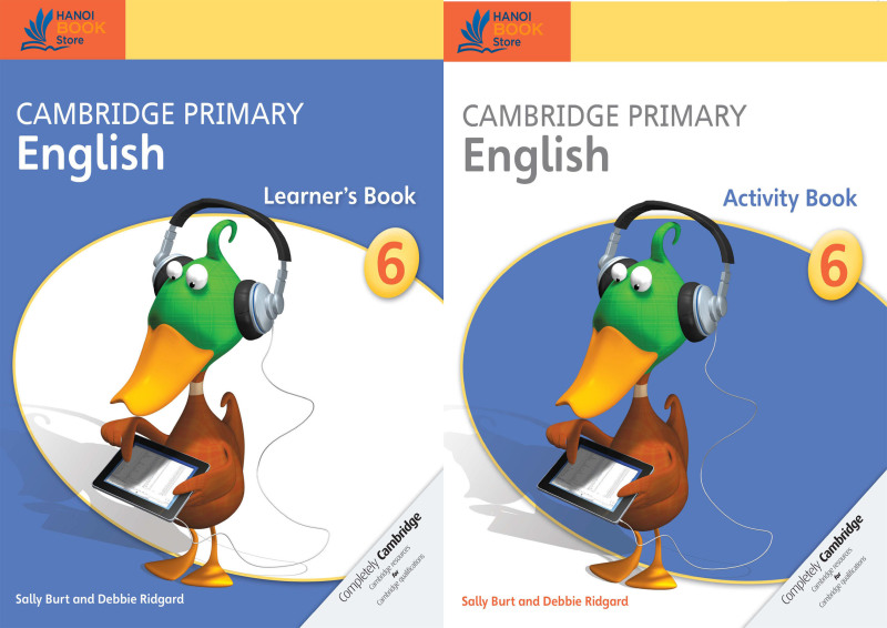 bộ sách 2 quyển Cambridge Primary English 6 Learners Book & Activity Book - Hanoi bookstore