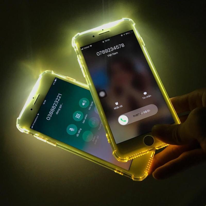 Giá Ốp lưng silicon chống sốc phát sáng Dada cho iPhone 5/5S/5SE/6/6S/6Plus/6SPlus/7/8/7Plus/8Plus/X/XR/XS Max/11/11PRO/11PRO Max