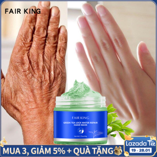 FAIR KING Green Tea Moisturizing Hand Wax Whitening Skin Hand Mask Repair Exfoliating Calluses Film Anti-Aging Hand Skin Treatment Cream thumbnail