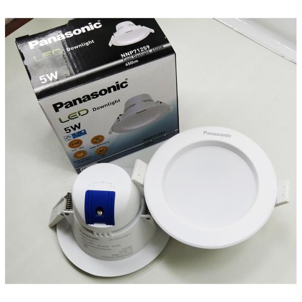 Đèn LED Downlight Ø114/ 90/ 5W Ánh sáng trắng - Panasonic