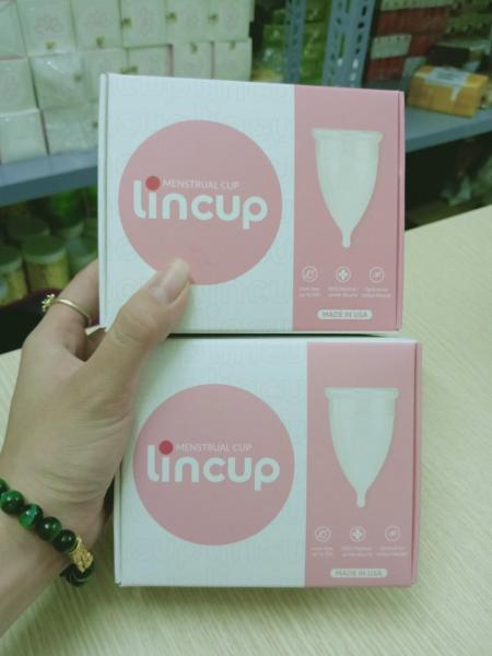 cốc nguyệt san lincup+ cốc tiệt trùng cao cấp
