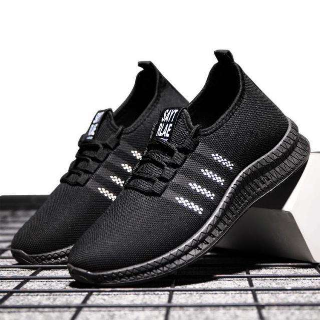 Giày sneaker nam vải lưới siêu thoáng khí êm chân siêu rẻ dễ sử dụng giá rẻ