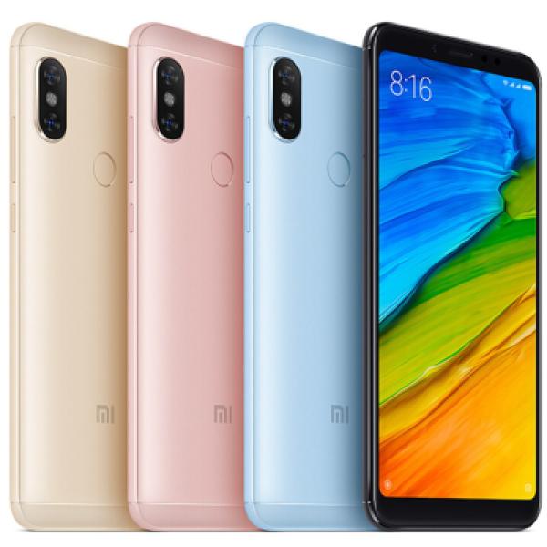 Điện thoại Xiaomi Redmi Note 5 - Camera trước:13 MP CPU:Snapdragon 636 8 nhân RAM:4 GB Bộ nhớ trong:64 GB Thẻ nhớ:MicroSD,