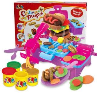 [HCM]Đồ chơi Đất sét đồ nướng BBQ - Đất nặn tạo hình đồ nướng - Đất nặn cho bé - KIDS GARDEN thumbnail