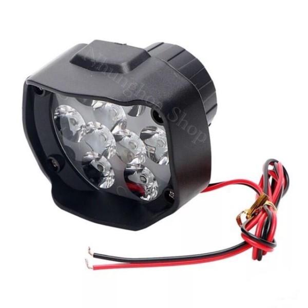 Đèn LED trợ sáng L5-9 Tim siêu sáng.Chống nước tuyệt đối [ Bảo Hành 6 tháng ]