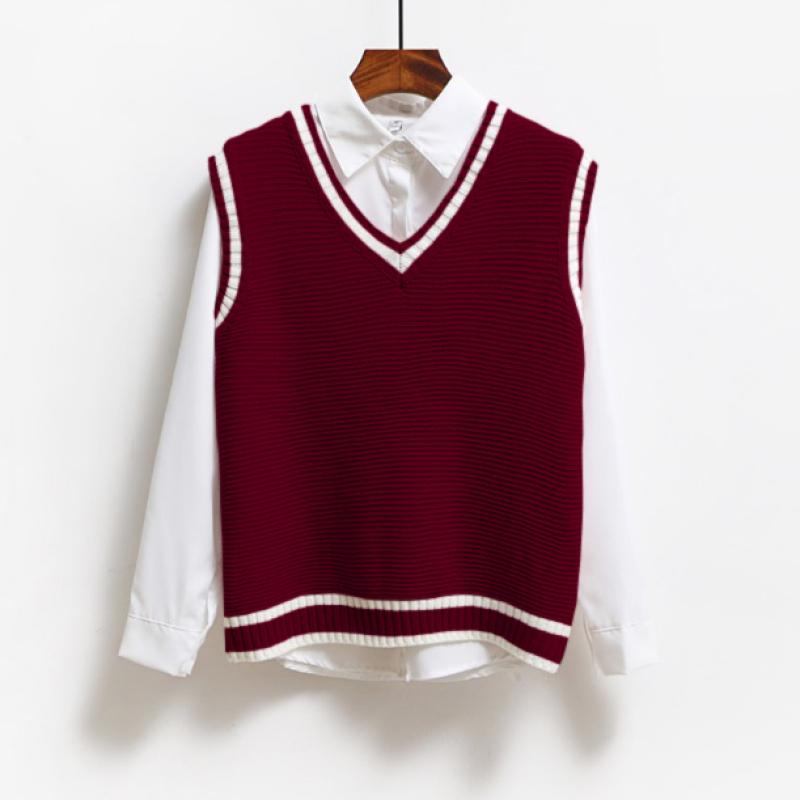 áo len gile nữ, áo len gile, áo len nữ A358
