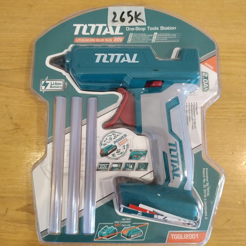 Thân máy phun keo Total, sử dụng pin 20V Total hoặc INGCO