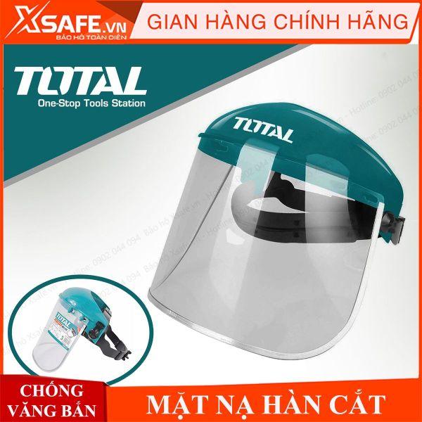 Kính che mặt Total TSP610 kính bảo hộ chống văng bắn, hóa chất, bảo vệ mắt, mũi, miệng / Dùng cho cơ khí, phòng dịch Chính hãng [XSAFE] [XTOOLs]
